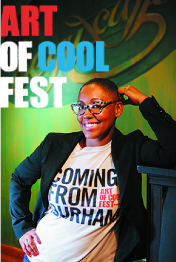 Cicely Mitchell is co-founder of The Art of Cool, a Durham nonprofit promoting music education to Durham-area youth